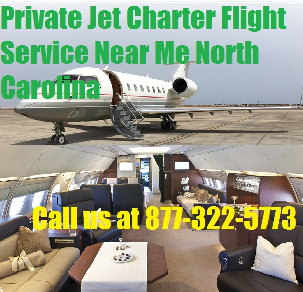 Rental Companies Near Me: Private Jet Charter Flight From Or To North Carolina