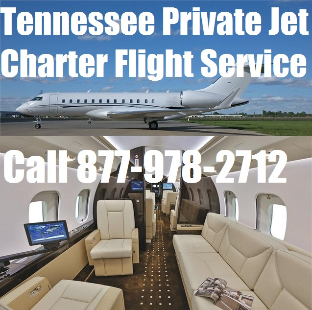 Rental Companies Near Me: Private Jet Charter Flight From Or To Tennessee Plane