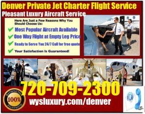 servicio de jet Denver