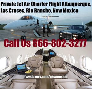 Private Jet Charter Albuquerque airport