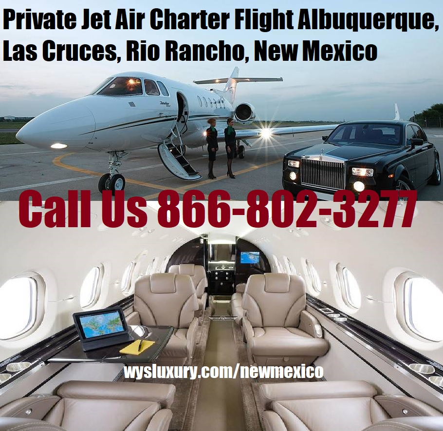 Rental Companies Near Me: Private Jet Air Charter Flight Albuquerque, Rio Rancho