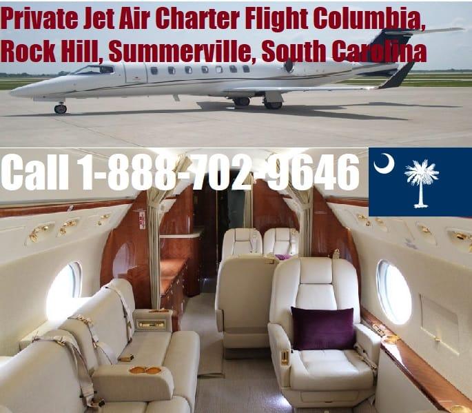 Rental Companies Near Me: Private Jet Air Charter Flight Columbia, Rock Hill