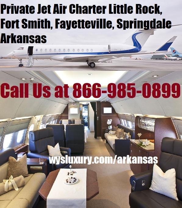 Private Jet Air Charter Flight Little Rock Ar Aircraft