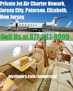 Private Jet Air Charter Flight Newark, Jersey City, Paterson