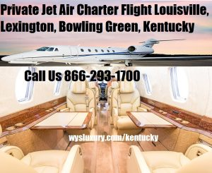 Private Jet Air Charter Flight Louisville airport