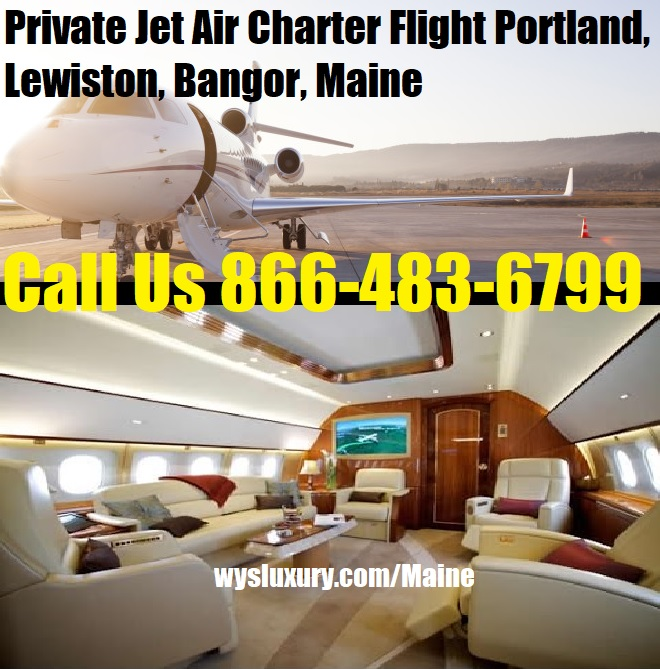 Rental Companies Near Me: Private Jet Air Charter Flight Portland, Lewiston, ME