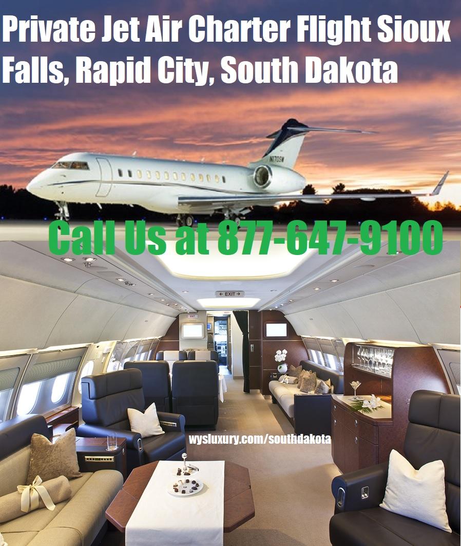 Rental Companies Near Me: Private Jet Air Charter Flight Rapid City, SD Aircraft