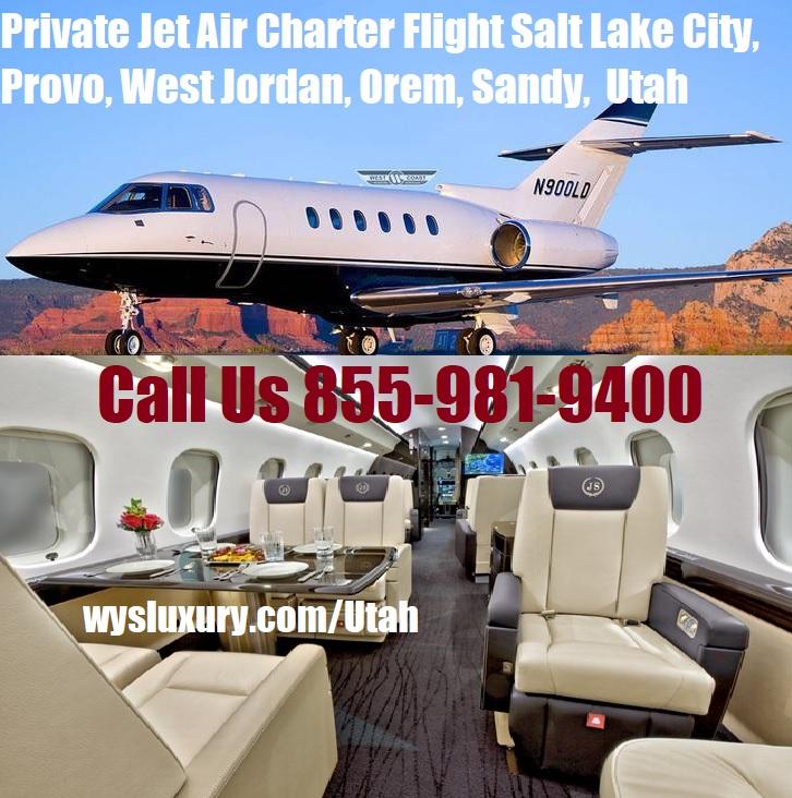 Rental Companies Near Me: Private Jet Charter Salt Lake City, Provo, West Jordan