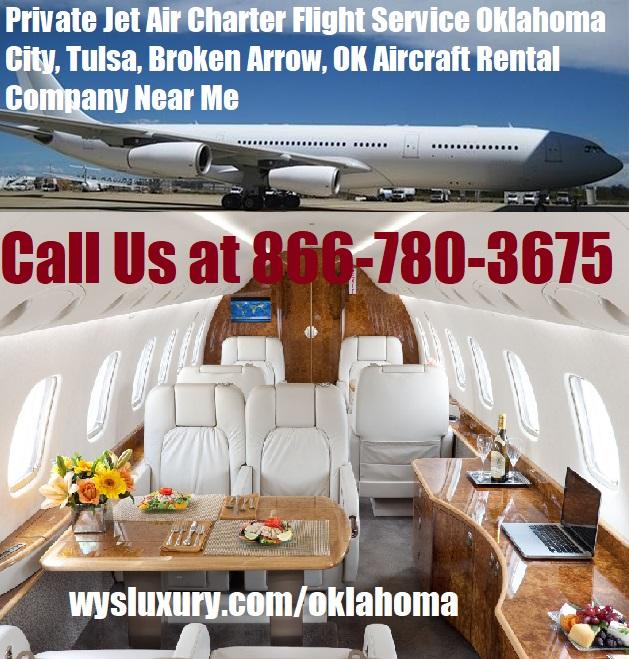 Rental Companies Near Me: Private Jet Air Charter Flight Tulsa, OK Plane Rental