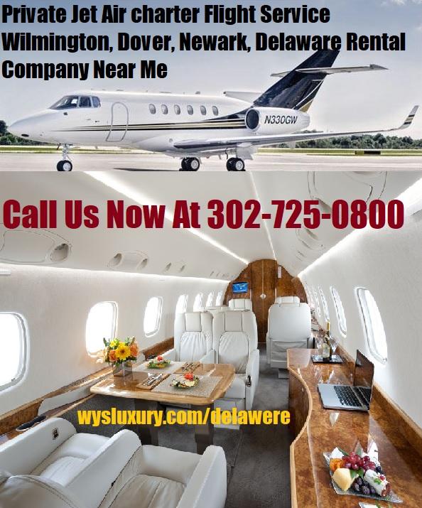 Rental Companies Near Me: Private Jet Air Charter Flight Wilmington, DE Aircraft