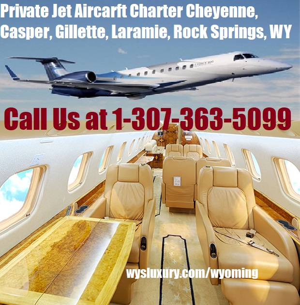 Rental Companies Near Me: Private Jet Charter Flight From Or To Wyoming Aircraft