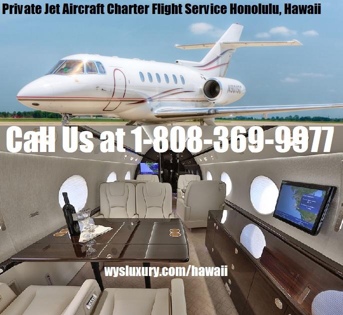 Rental Companies Near Me: Private Jet Aircraft Charter Hawaii Plane Rental Company