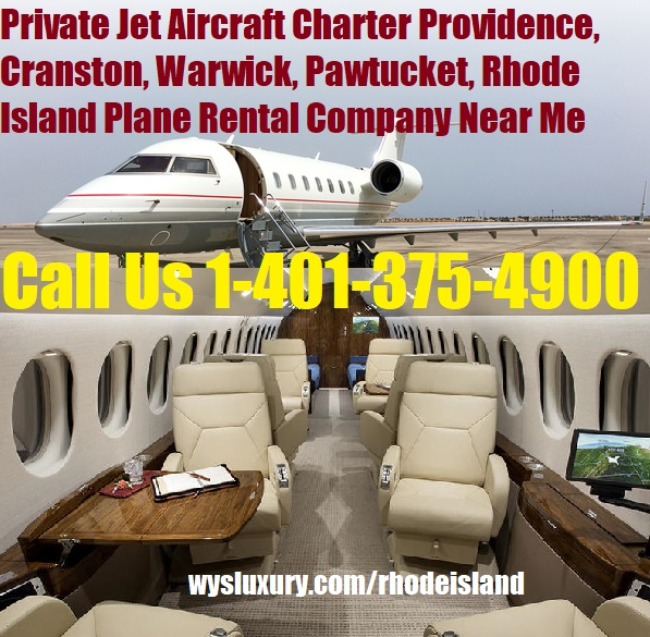 Place For Rent Near Me: Private Jet Charter Providence, RI Aircraft Plane Rental