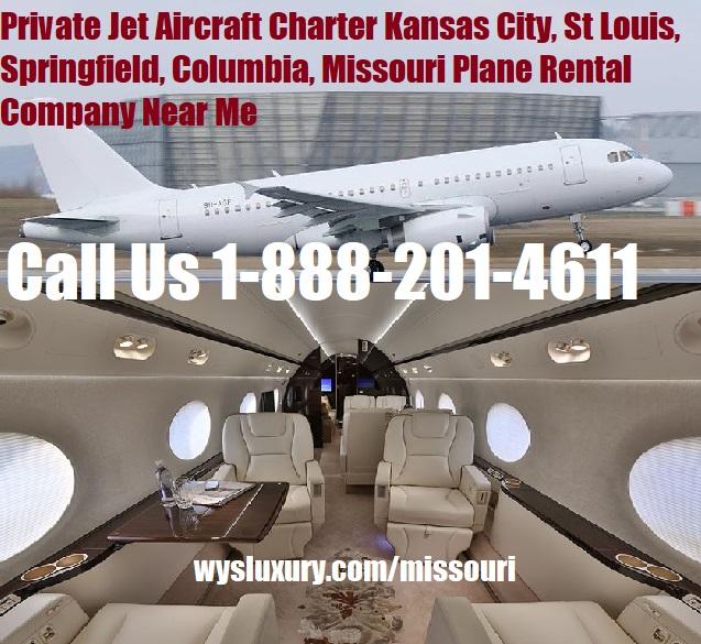 Rental Companies Near Me: Private Jet Charter St Louis, MO Aircraft Plane Rental
