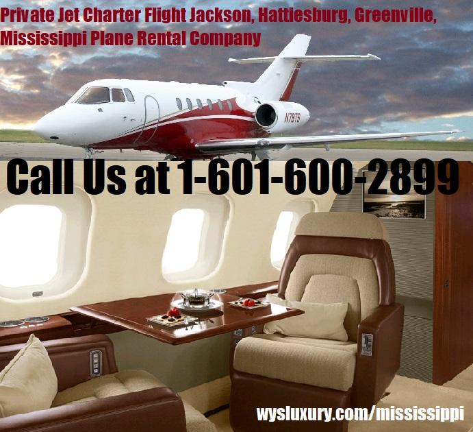 Rental Companies Near Me: Private Jet Charter Jackson, MS Aircraft Plane Rental